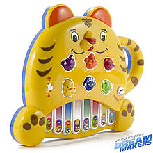 Развивающие и обучающие игрушки «Mommy Love» (8806-6) пианино Тигренок