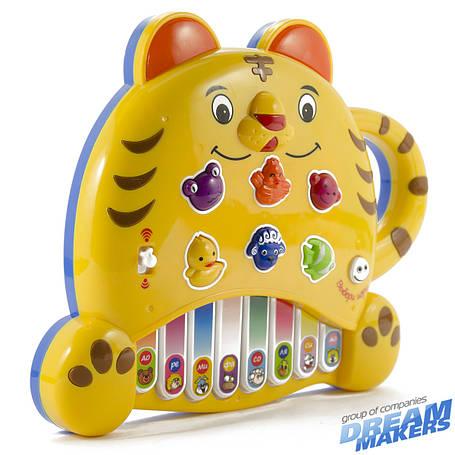 Розвиваючі і повчальні іграшки «Mommy Love» (8806-6) піаніно Тигреня, фото 2