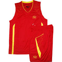 Баскетбольная форма Ewropaw красно-желтая
