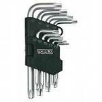 Наборы ключей шестигранных (1.5-10) мм, 9шт, TOPEX