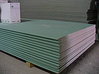 Гипсокартон потолочный 9,5х2500х1200 мм влагостойкий KNAUF
