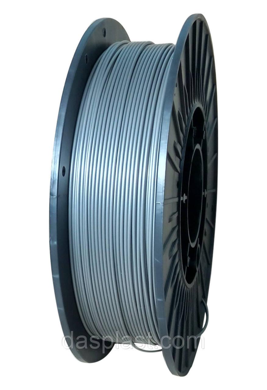ABS серый металлик 0.5 кг АБС нить 1.75 мм пластик для 3d печати