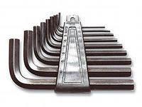 Наборы ключей шестигранных (2-14) мм, 9шт, TOPEX
