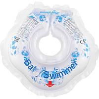 Круг для купания малышей 3-12 кг «Гжель», BabySwimmer