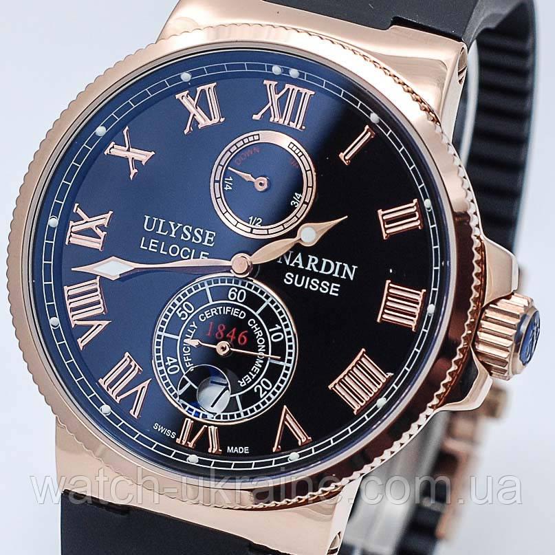 Часы Ulysse Nardin Maxi Marine Chronometer мех.Класс ААА