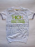 Детская одежда футболка для мальчиков BLUELAND от 134 до 170 см рост.
