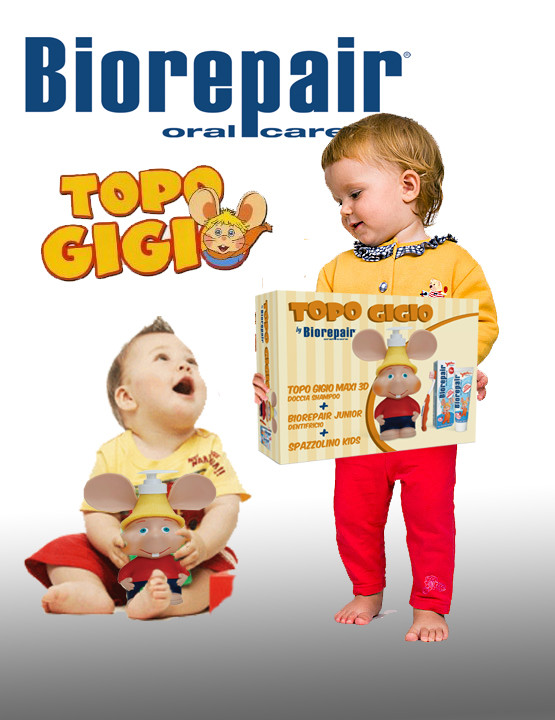 Дитячий набір Веселе мишеня Biorepair