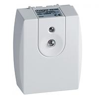 Hager (Германия) - Сумеречный  выключатель и датчик в одном корпусе (сумеречное реле), 5-1000лк, IP55. EE702