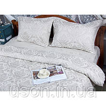 Комплект  постельного белья deco bianca евро размер жаккард jk17-06-gri