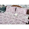 Комплект  постельного белья deco bianca евро размер жаккард -jk17-05-bordo