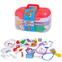 Игровой набор доктора в чемоданчике М 0460