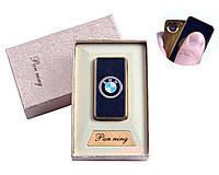 """USB зажигалка в подарочной упаковке """"BMW"""" (Спираль накаливания)"""