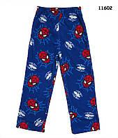 Флисовые домашние штаны Spiderman для мальчика. 8 лет