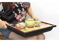 Поднос на подушке - столики для чая и ноутбуков