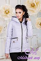 Женская демисезонная куртка больших размеров (р. 44-58) арт. 925 Тон 20