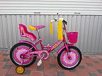 Детский двухколесный велосипед AZIMUT GIRLS 18 дюймов