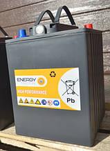 Фото полу-тягового аккумулятора ENERGY Traction monoblock 3GEL180, 6V-180ah, для поломоечной машины Karcher
