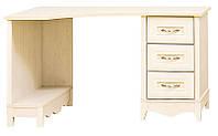 Стол угловой письменный Селина (SM), элемент модульной системы мебели для подростков Селина 1310*740*900