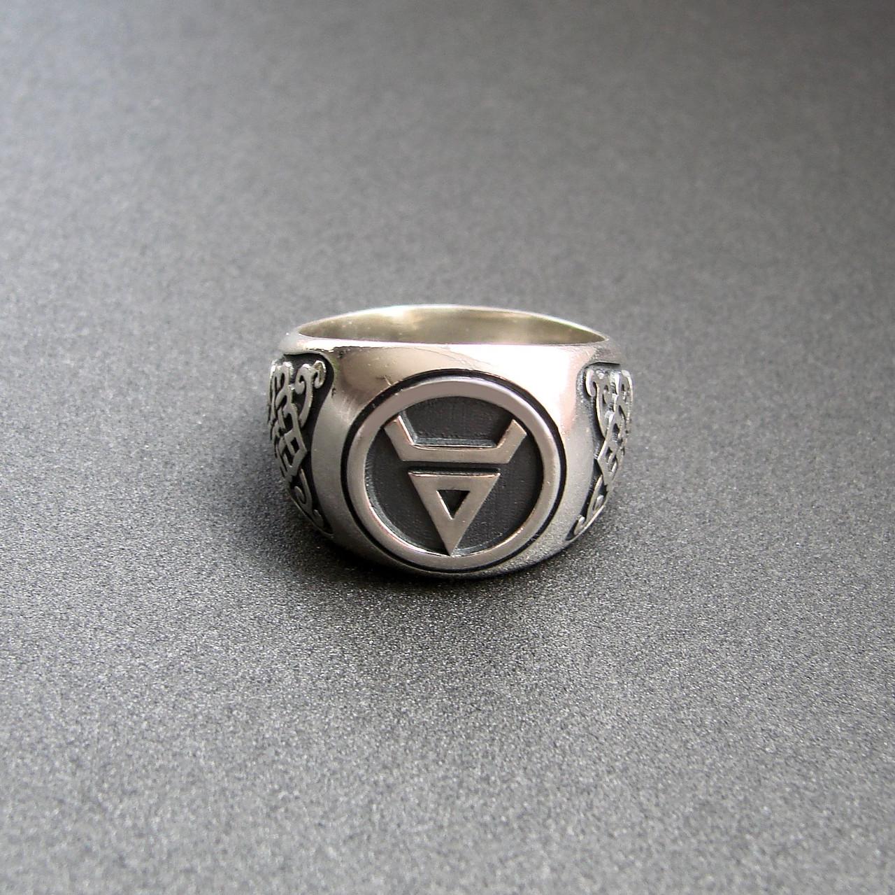 """Срібний перстень """"Велес"""""""