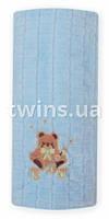 Детское одеяло Baby Mix(80*104)голубое