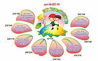 Набор стендов права детей (лепестки), фото 1