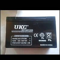 AGM аккумулятор UKC 6-12 (6V, 12Ah)