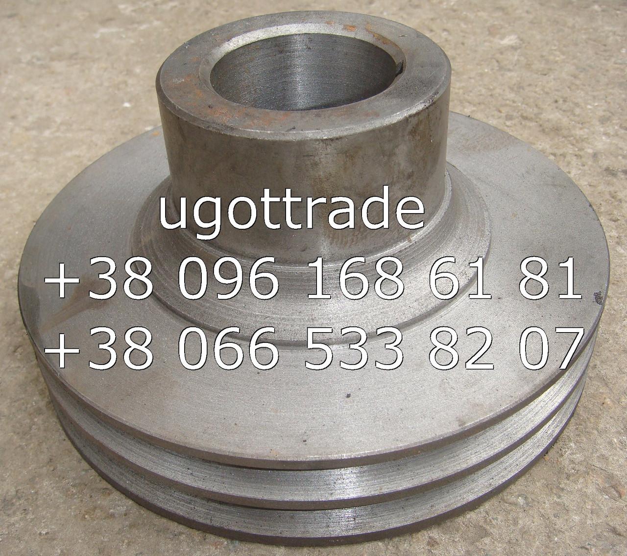 Шкив коленвала СМД-18-22 двухручейный, 14-0406-2