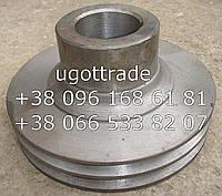 Шкив коленвала СМД-18-22 двухручейный, 14-0406-2, фото 1