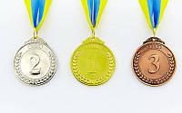 Медаль с ленточкой (металл, d-5см, 27g, на ленте)