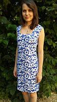 """Платье """"Легкие синие маки"""""""