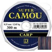 Леска Dragon Super Camou Carp 300 m