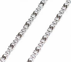 Цепочка фирмы Xuping, цвет серебряный. Длинна: 45 см. Ширина: 1 мм.
