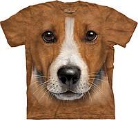 3-D футболка BIG FACE JACK RUSSELL TERRIER