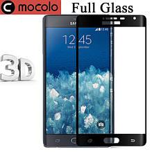 Защитное стекло Mocolo 3D 9H на весь экран для Samsung Galaxy Note Edge N915 черный