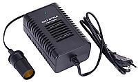 Инвертор напряжения 12/230V: для автомобильных приборов, 12х1,5х5,5 см, 330 г