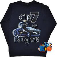 """Детский батник """"Bugatti Veyron"""" , трикотажный , для мальчика (рост 140-176 см) (4 ед. в уп.)"""