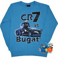 """Детский батник """"Bugatti Veyron"""" , из трикотажа , для мальчиков (рост 140-176 см) (4 ед. в уп.)"""