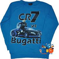 """Детский батник """"Bugatti Veyron"""" , из трикотажа , для мальчика (рост 140-176 см) (4 ед. в уп.)"""