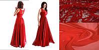 Платье вечернее Валентино красный мороз