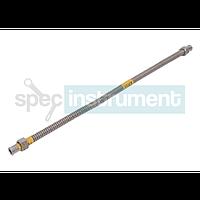 Шланг для газа  12 мм 1/2 500 мм  гайка-гайка нержавеющая сталь SANDI-FLEX