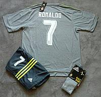 Форма Реал Мадрид Роналдо серая сезон 2015-2016, фото 1