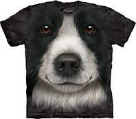 3-D футболка BORDER COLLIE FACE