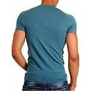 Мужская футболка Doreanse 2535 петроль/изумруд, фото 2