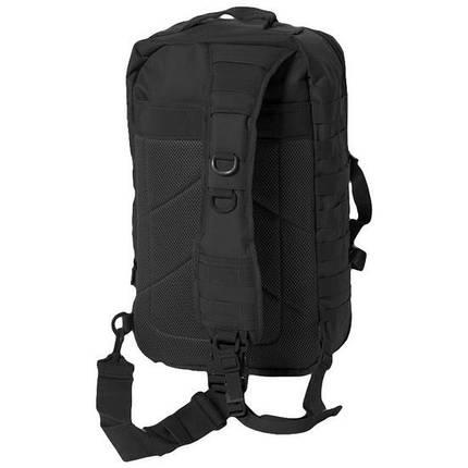 Рюкзак с одной лямкой 36л MilTec Assault чёрный 14059202, фото 2