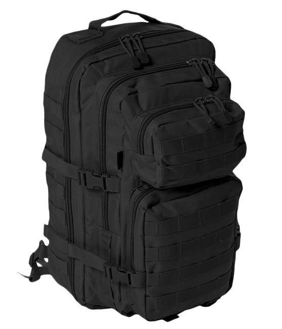 Рюкзак с одной лямкой 36л MilTec Assault чёрный 14059202