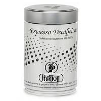 PORTIOLI Espresso decaffeinato: 60% arabica, 40% robusta - Кофе молотый без кофеина 60% арабик, 40% роб., 250g