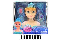 """Кукла """"ФРОЗЕН"""", голова для причесок, расческа, заколочки, L2015-61-62"""