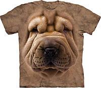 3-D футболка BIG FACE SHAR PEI PUPPY