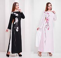 """Длинное легкое платье """"Сакура"""""""
