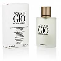 ТЕСТЕР Giorgio Armani Aqua Di Gio men 100 мл Мужская парфюмерия